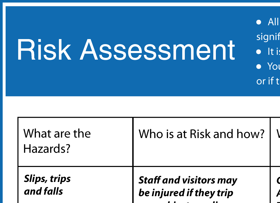 Esky Riskassessment  Download Risk Assessment Template